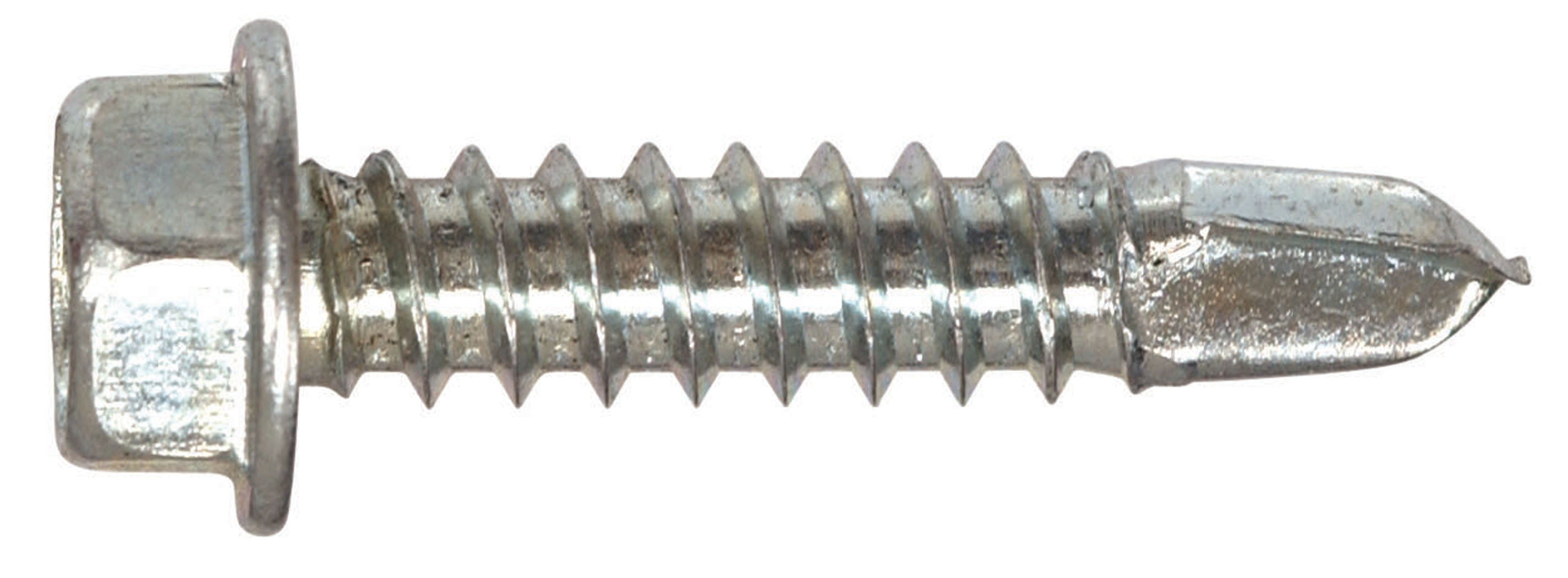 The Hillman Group 47211 10-16 x 1//2-Inch Hex Washer Head Self Drilling Screw